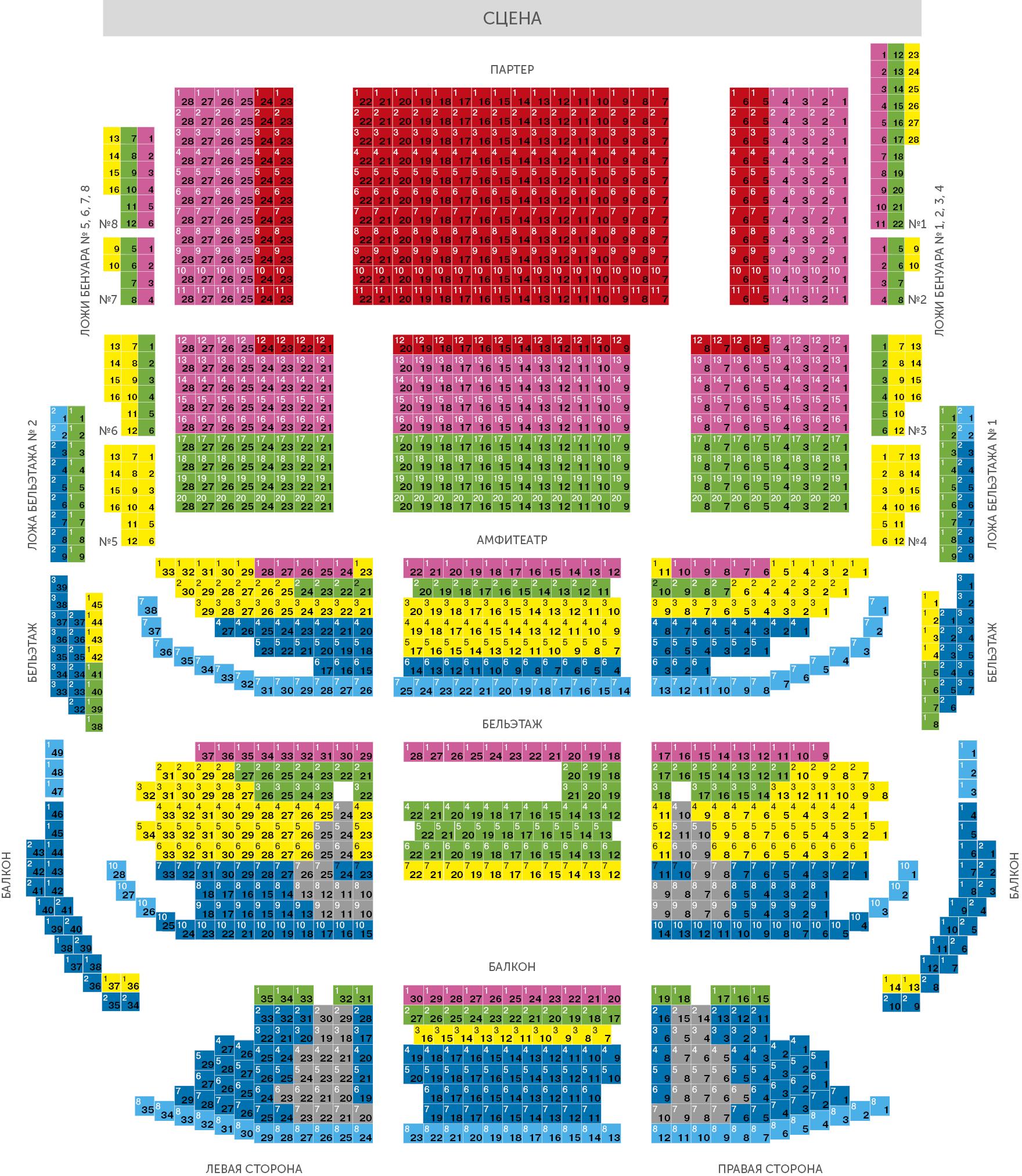 Картинки по запросу московский театр оперетты схема зала